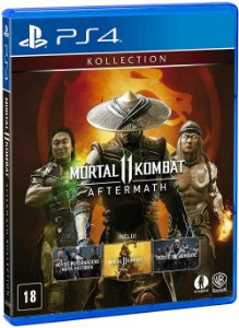 Mortal Kombat 11: Aftermath - PS4 (usado)