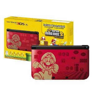 Nintendo 3ds XL New Super Mario Bros 2 Edition (Pré Instalado)