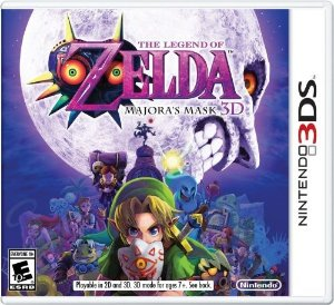 3DS The Legend of Zelda - Majora´s Mask 3D