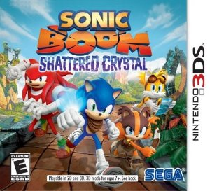 3DS Sonic Boom - Shattered Crystal