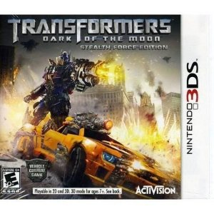 3DS Transformers - Dark of The Moon (usado)