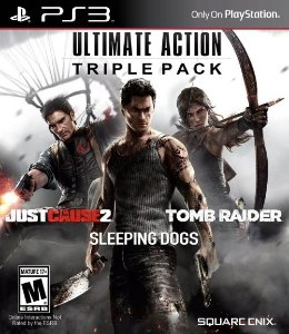 PS3 Ultimate Action Triple Pack SquareEnix