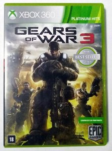 Gears of War 3 Hits - Xbox 360 (usado)
