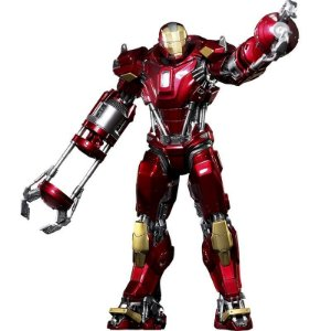 Action Figure Iron Man 3 Red Snapper Mark XXXV - Hot Toys