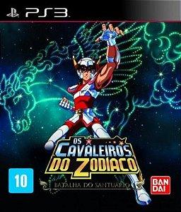 PS3 Cavaleiros do Zodíaco - Batalha do Santuário