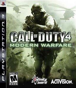 PS3 Call of Duty 4 - Modern Warfare