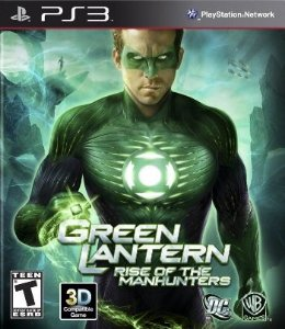 PS3 Green Lantern - Rise of The Manhunters