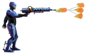 Robocop Flamethrower - Robocop vs Terminator Neca