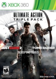 X360 Ultimate Action Triple Pack SquareEnix