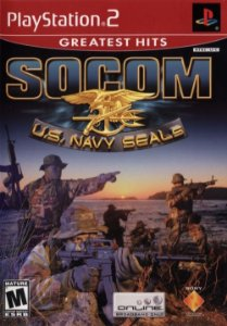PS2 Socom U.S Navy Seals