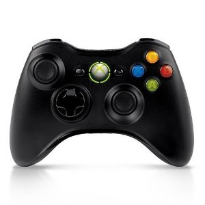 Controle Xbox 360 Black Wireless