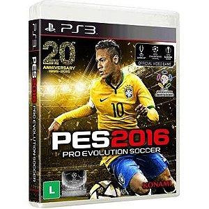 PS3 PES 2016 - Pro Evolution Soccer