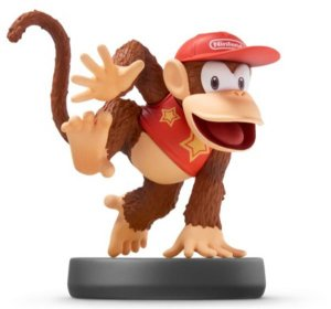Diddy Kong Amiibo: Super Smash Bros - Switch/WiiU