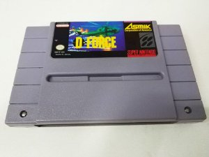 D-Force - SNES (usado)