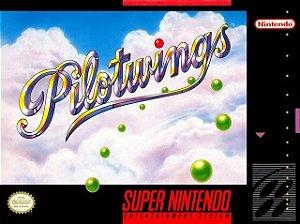 SNES Pilotwings (usado/relabel)