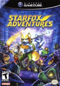 GC Star Fox Adventures (usado/sem manual)