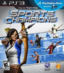 Sports Champions Move - PS3 (usado)