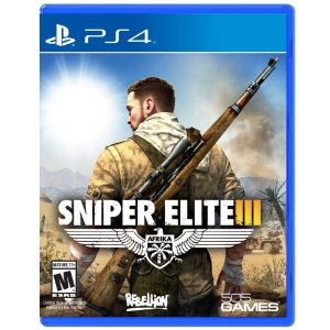 Sniper Elite III - PS4 (usado)