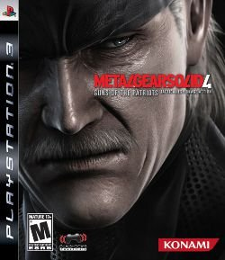 Metal Gear Solid 4 - PS3 (usado)