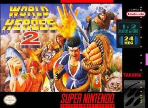 WORLD HEROES 2 USADO (SNES)