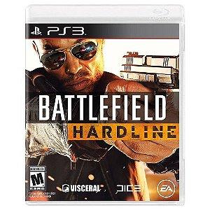 Battlefield Hardline - PS3 (usado)
