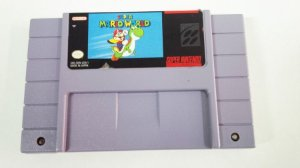 SNES Super Mario World (usado)
