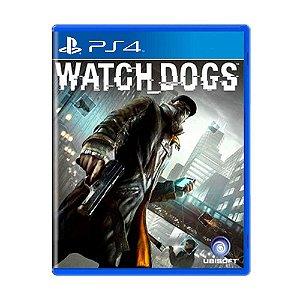 Watch Dogs - PS4 (usado)