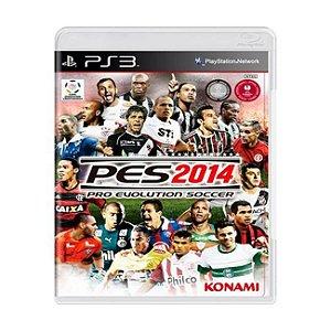 PES 2014: Pro Evolution Soccer - PS3 (usado)