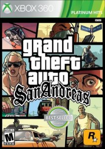 X360 GTA San Andreas (usado)