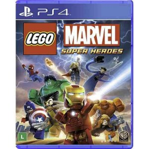 Lego Marvel Super Heroes - PS4 (usado)