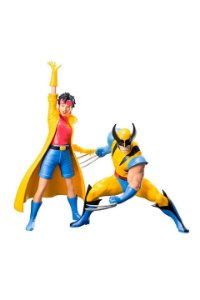 Wolverine e Jubilee X-Men 92: Two Pack ArtFX+ - Kotobukiya