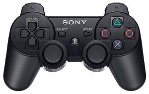 Controle PS3 DualShock Preto