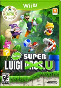 Wii U New Super Luigi Bros.U (usado)