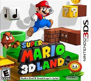 Super Mario 3D Land - 3DS (usado)