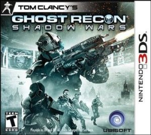 3DS Ghost Recon - Shadow Wars (usado)