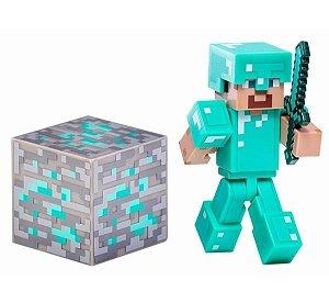 Steve Armadura de Diamante Minecraft - Multikids