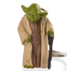 Yoda Chaveiro Star Wars - Multikids