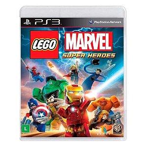 Lego Marvel: Super Heroes - PS3 (usado)