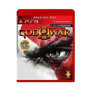God of War 3 Hits - PS3 (usado)