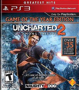 Uncharted 2: Among Thieves Hits - PS3 (usado)