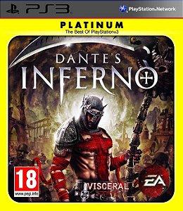 Dante´s Inferno Platinum - PS3 (usado)