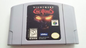 N64 Nightmare Creatures (usado)