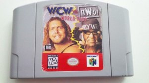 N64 WCW Vs NWO - World Tour (usado)