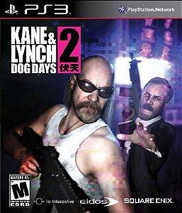 Kane e Lynch 2: Dog Days - PS3 (usado)