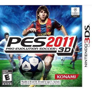 3DS PES 2011 - Pro Evolution Soccer 3D