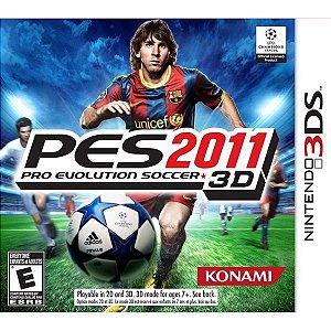 PRO EVOLUTION SOCCER 2011 3D (3DS)