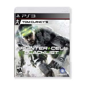 Splinter Cell: Blacklist - PS3 (usado)