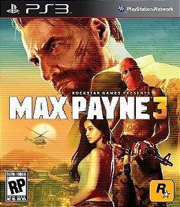 Max Payne 3 - PS3 (usado)
