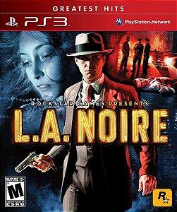 L.A Noire Hits - PS3 (usado)