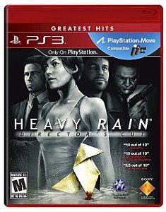 Heavy Rain Hits - PS3 (usado)